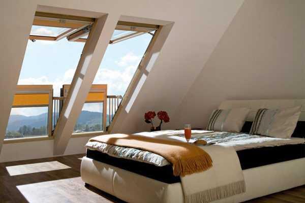 okna dachowe na poddaszu idenaswoje