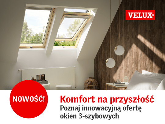 Oferta Velux okna dachowe sklepy budowlane Bat Gdańsk