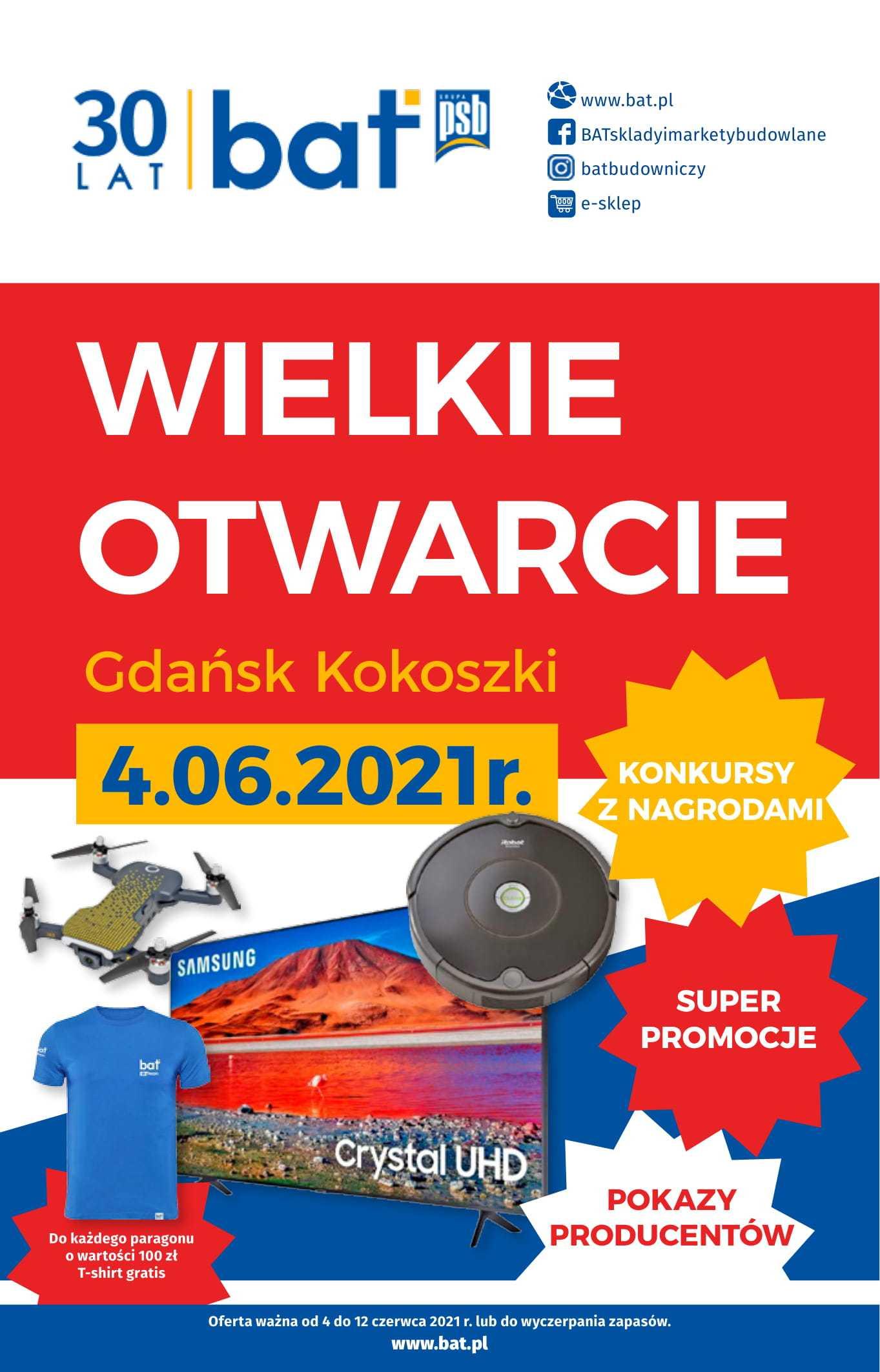 gazetka promocyjna wielkie otwarcie bat gdansk kokoszki-1